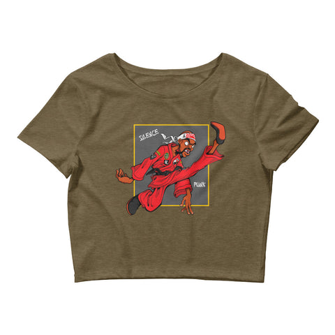 For The Culture (Dragon Fly Jones) Women's Crop Tee