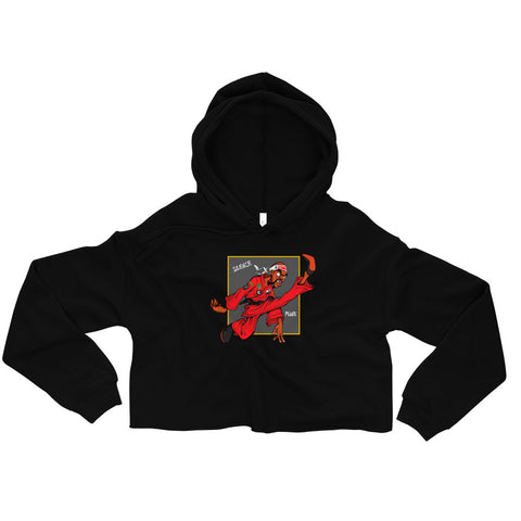 For The Culture (Dragon Fly Jones) Crop Hoodie