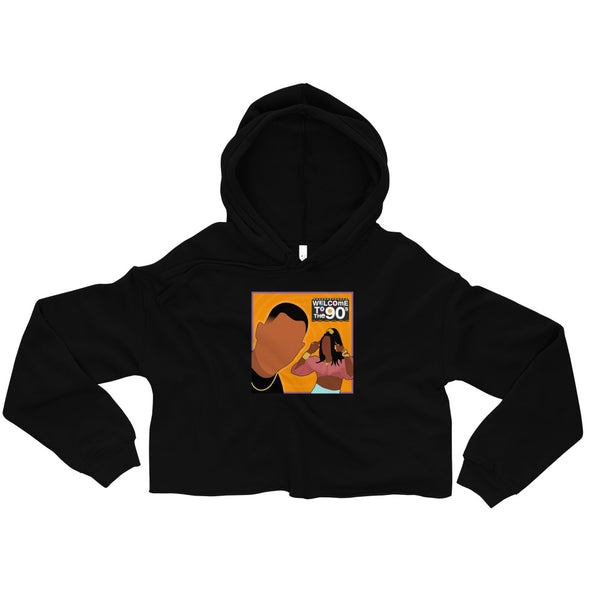 Welcome to the 90s (Martin) Crop Hoodie