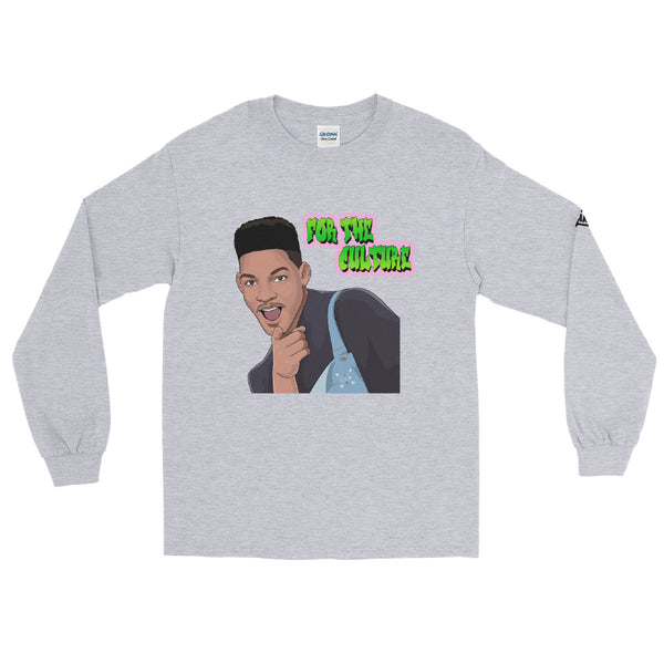 For The Culture (Fresh Prince) Men's Long Sleeve Shirt