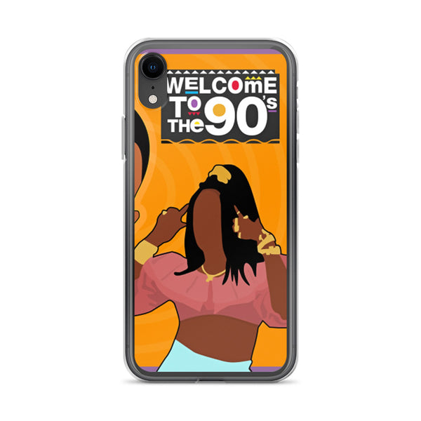 Welcome to the 90s (Martin) iPhone Case