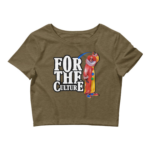 For The Culture (Homie The Clown) Women's Crop Tee