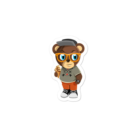 Pook The Bear (Kids) Bubble-free stickers