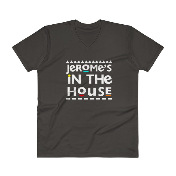 Jerome In The House V-Neck T-Shirt