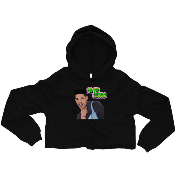For The Culture (Fresh Prince) Crop Hoodie