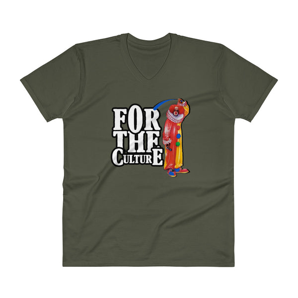 For The Culture (Homie The Clown) V-Neck T-Shirt