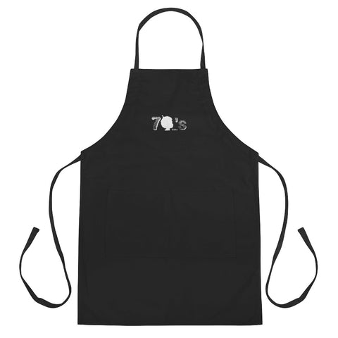 70's Baby Embroidered Apron