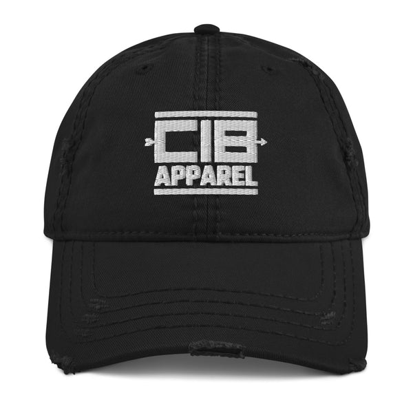 CIB Apparel Distressed Dad Hat