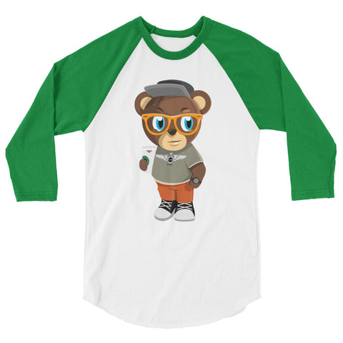 Pook The Bear raglan shirt