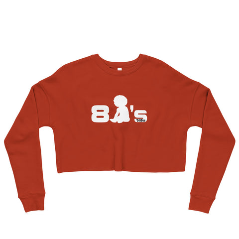 80's Baby Crop Sweatshirt