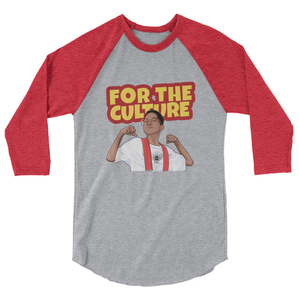 For The Culture (Steve Urkel) T-Shirt raglan shirt