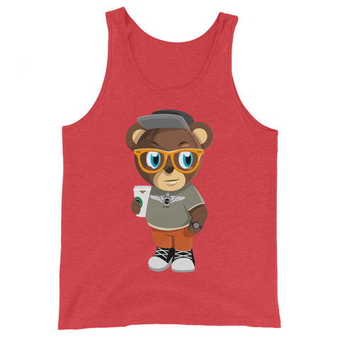 Pook The Bear Tank Top