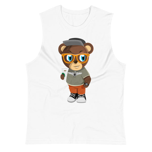 Pook The Bear Muscle Shirt