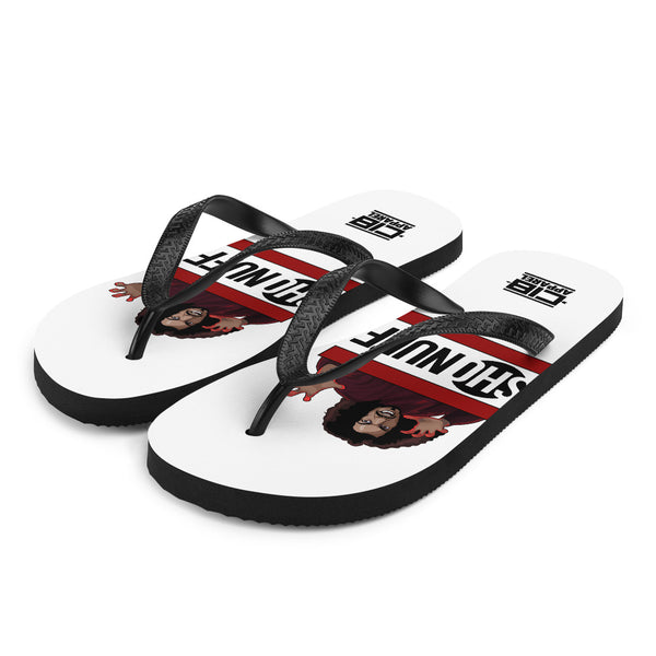 For The Culture (Sho Nuff) Flip-Flops