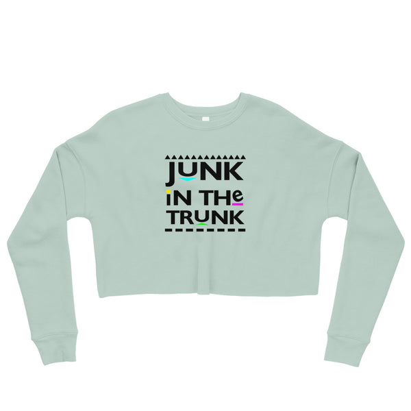 Junk in The Trunk Crop Sweatshirt
