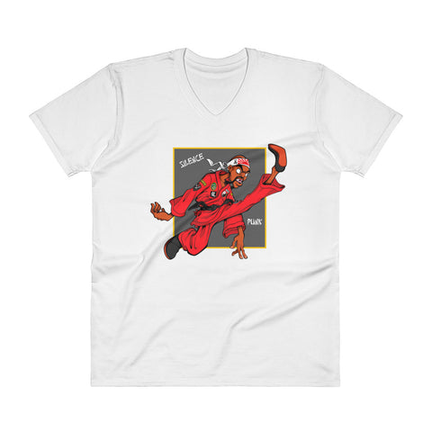 For The Culture (Dragon Fly Jones) V-Neck T-Shirt
