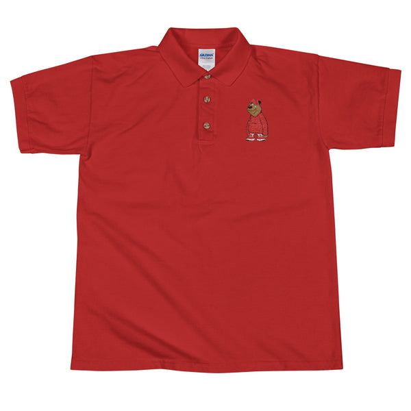 Freddie The Bear  Polo Shirt