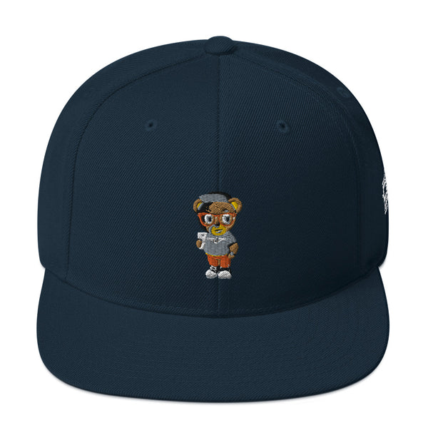 Pook The Bear Snapback Hat