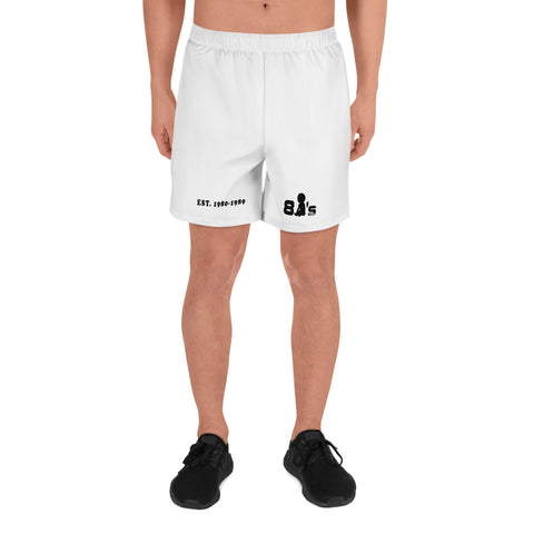 80's Baby Men's Athletic Long Shorts