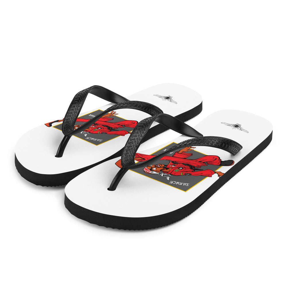 For The Culture (Dragon Fly Jones) Flip-Flops