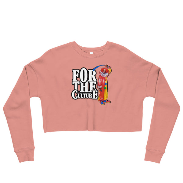 For The Culture (Homie The Clown) Crop Sweatshirt