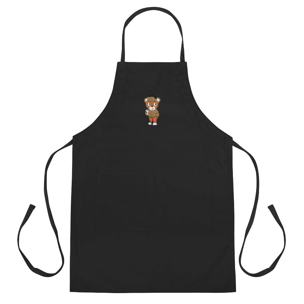 Pook The Bear Embroidered Apron