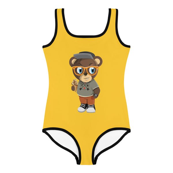 Pook The Bear Kids Swimsuit