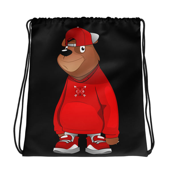 Freddie The Bear (Kids) Drawstring bag
