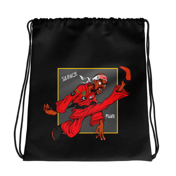 Dragon Fly Jones Drawstring Bag