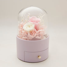 Load image into Gallery viewer, 永生花珠寶首飾盒 Preserved flower jewel box - Heting Artelier