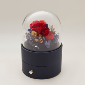 永生花珠寶首飾盒 Preserved flower jewel box - Heting Artelier
