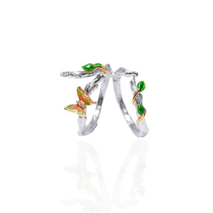 Enchanted butterfly ring