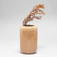 Load image into Gallery viewer, Crystalline Amber Vase-Small