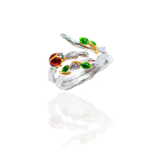 Enchanted ladybird ring