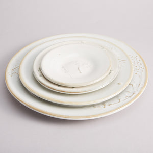 Dried Flower Ceramic Plate SS - Heting Artelier