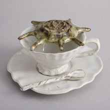 Load image into Gallery viewer, Tea Cup & Saucer - Heting Artelier
