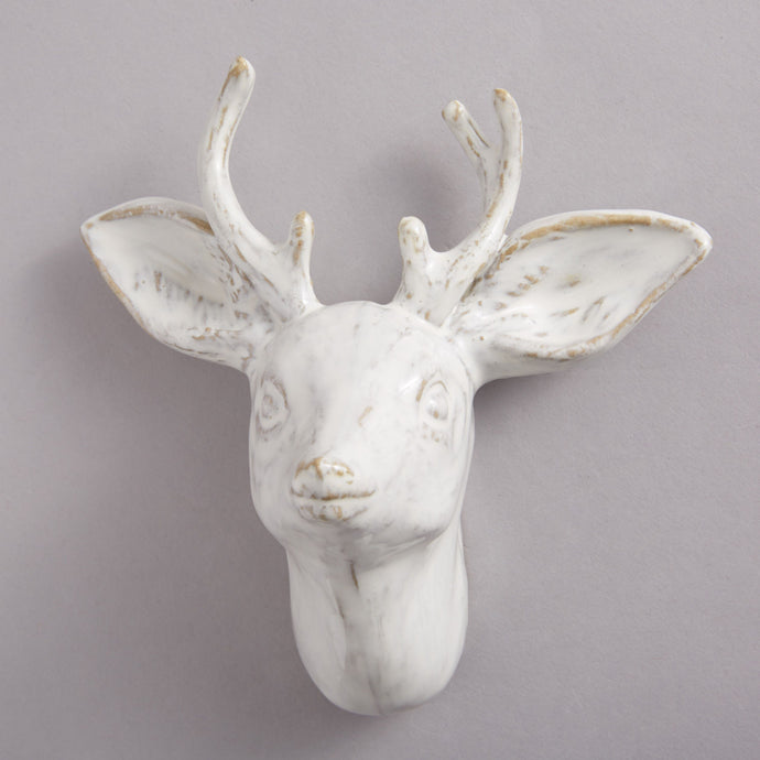 Ceramic Stag Hook - Heting Artelier