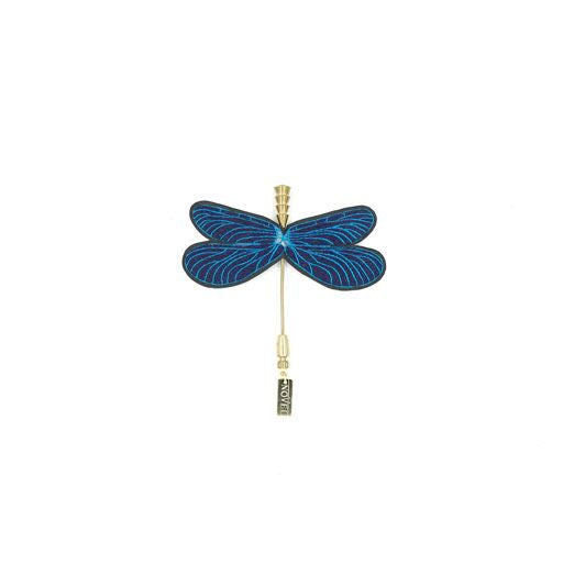 Calopteryx Virgo Pin - Heting Artelier