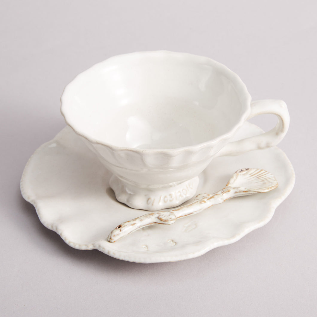 Tea Cup & Saucer - Heting Artelier