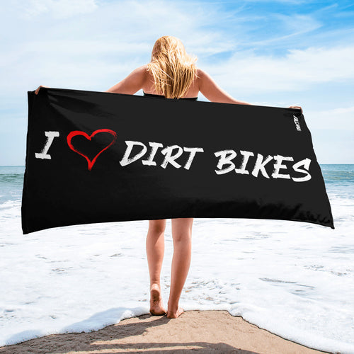 HEART DIRT BIKES - Towel