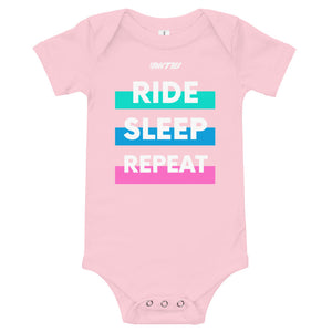 RIDE REPEAT - Baby Bodysuit