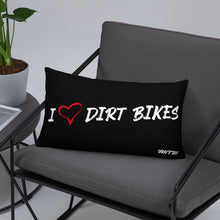 Load image into Gallery viewer, HEART DIRT BIKES - Pillow