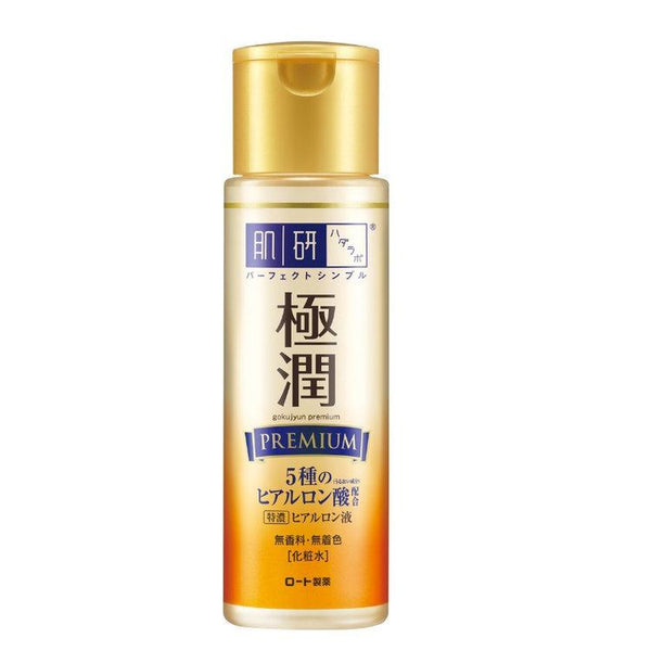 Hada Labo Goku-Jyun Hyaluronic Acid Lotion (Premium) - New Packaging - glassangelskincare.com