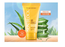 Load image into Gallery viewer, NATURE REPUBLIC California Aloe Daily Sun Block SPF50+ PA++++ - glassangelskincare.com