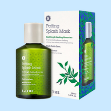 Load image into Gallery viewer, BLITHE Patting Splash Mask (Soothing & Healing Green Tea)