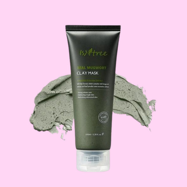 Isntree Real Mugwort Clay Mask - glassangelskincare.com