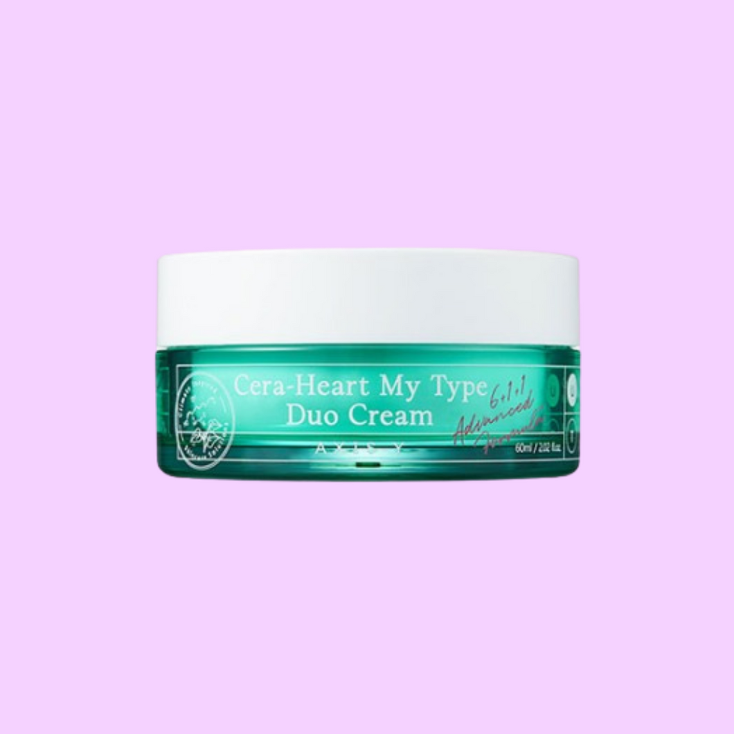 Axis-Y Cera-Heart My Type Duo Cream - glassangelskincare.com