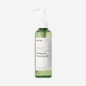 Manyo Factory Herb Green Cleansing Oil - glassangelskincare.com