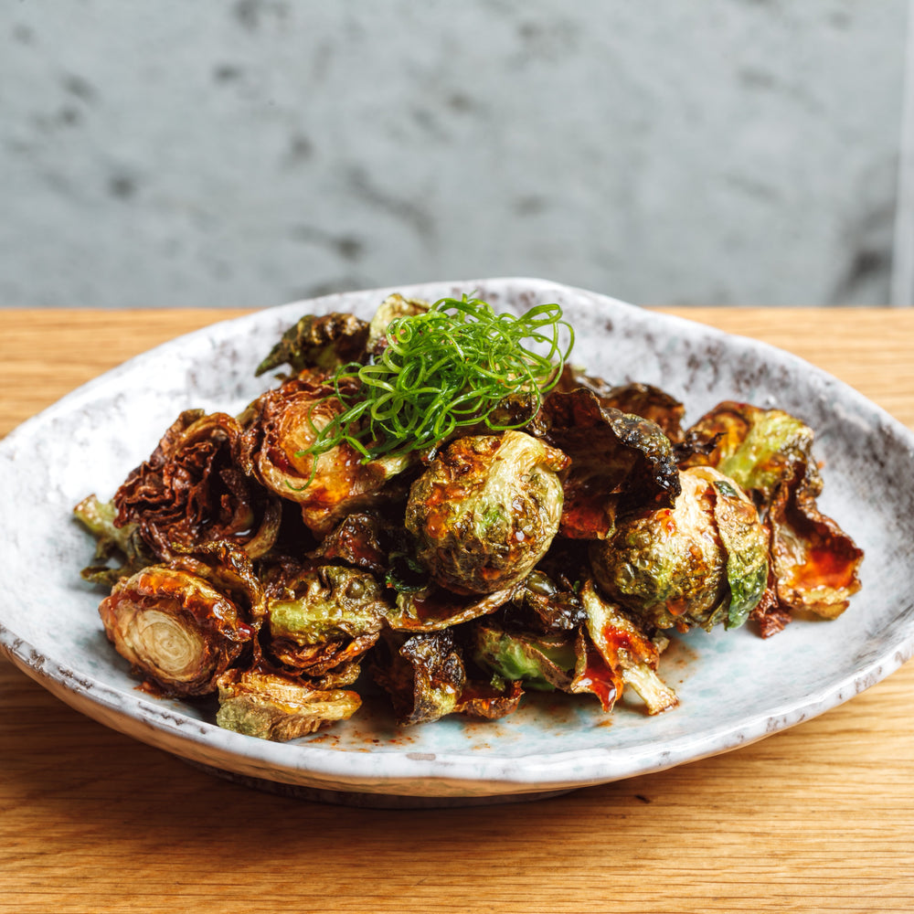 Load image into Gallery viewer, CRISPY BRUSSEL SPROUTS