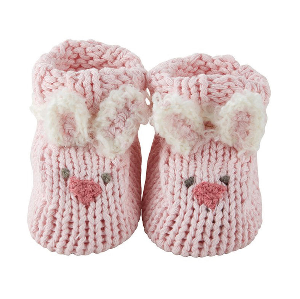 Knit Baby Bunnie Booties